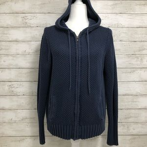 American Eagle Outfitters | Knit Sweater Hoodie